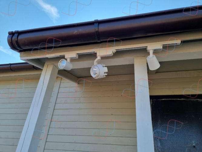 Проект и монтаж электрики летнего дачного домика под ключ